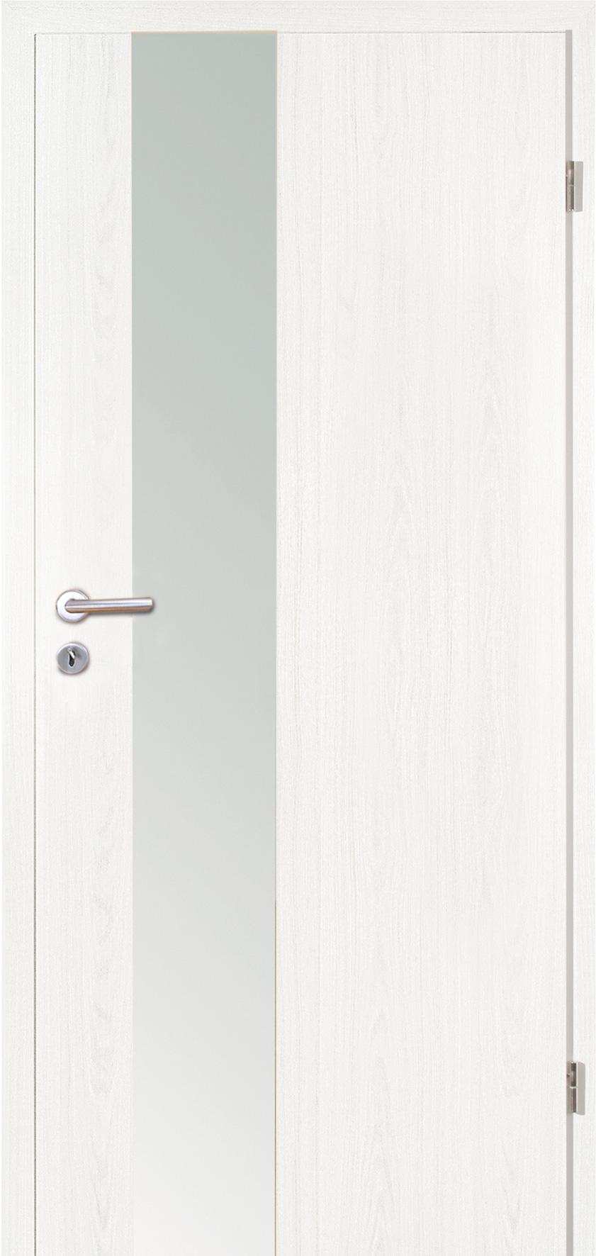 Modernes t relement vision schlossseite decora esche wei - Weisse wandfarbe deckend ...